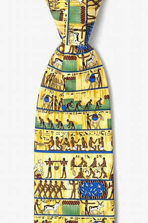 _Ancient Egyptian 7 Day Week Tie_