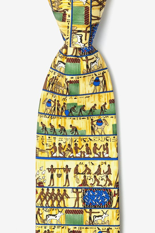 Ancient Egyptian 7 Day Week Tie Photo (0)