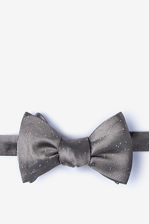 Iceland Tan/taupe Self-Tie Bow Tie