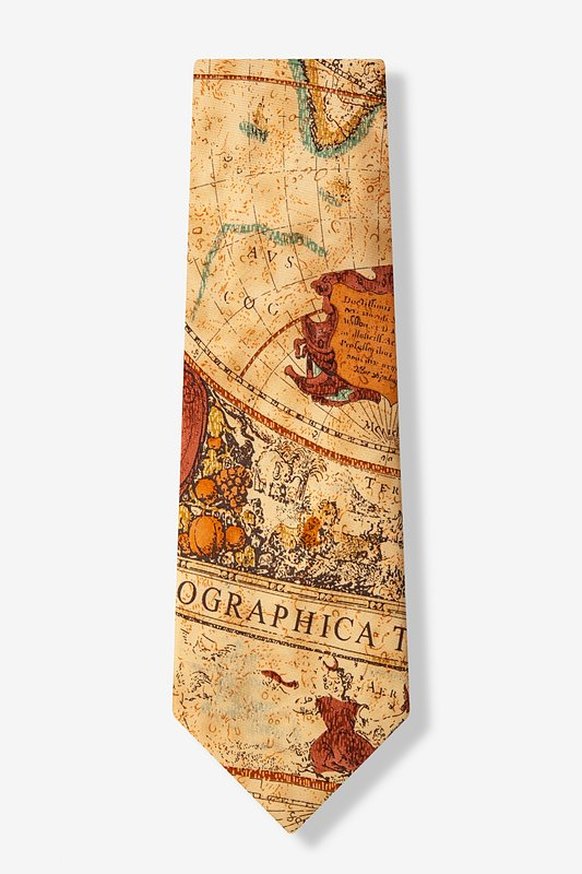 Old World Exploration Tie Photo (1)