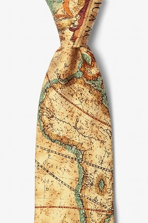 Old World Exploration Tie