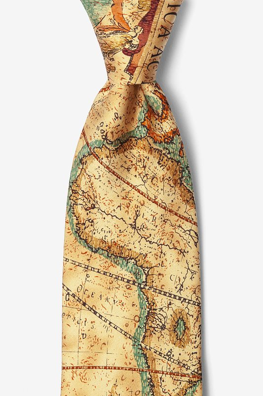 Old World Exploration Tie Photo (0)