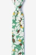 Teal Cotton Arnold Skinny Tie