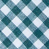 Teal Cotton Clayton Extra Long Tie