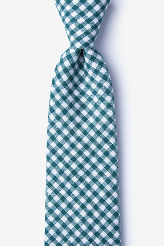 Clayton Teal Extra Long Tie Photo (0)