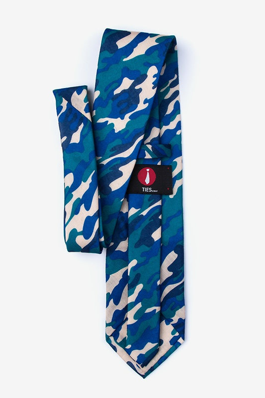 Drones Teal Extra Long Tie Photo (1)