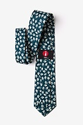 Florence Teal Extra Long Tie Photo (2)