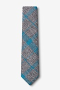 Kirkland Teal Skinny Tie Photo (1)