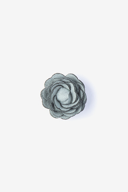Mini Flower Teal Lapel Pin