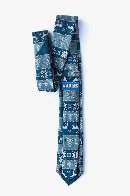 Less Ugly Christmas Sweater Skinny Tie