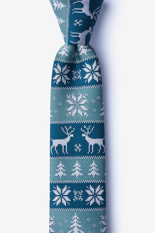 Less Ugly Christmas Sweater Skinny Tie Photo (0)