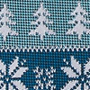 Teal Microfiber Less Ugly Christmas Sweater Tie