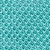 Teal Silk Classic Solid Knit Skinny Tie