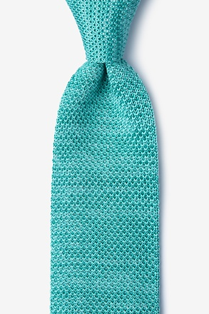 Classic Solid Knit Tie