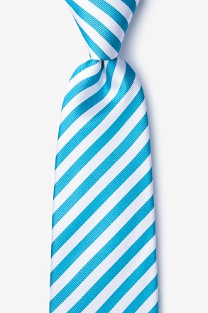 _Glyde Teal Extra Long Tie_