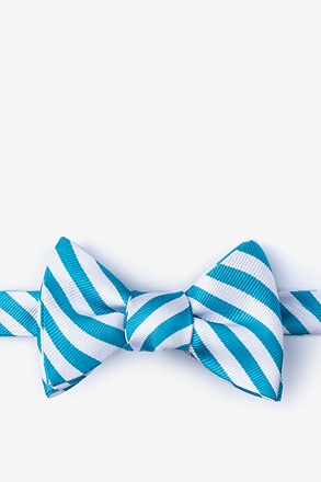 _Glyde Teal Self-Tie Bow Tie_