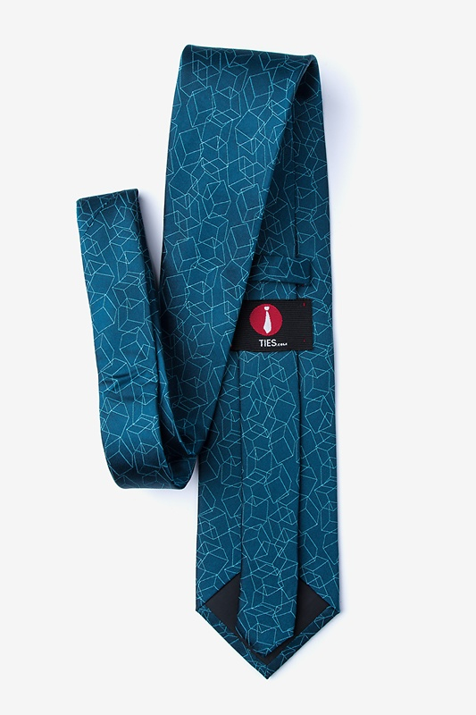 Grider Teal Extra Long Tie Photo (1)