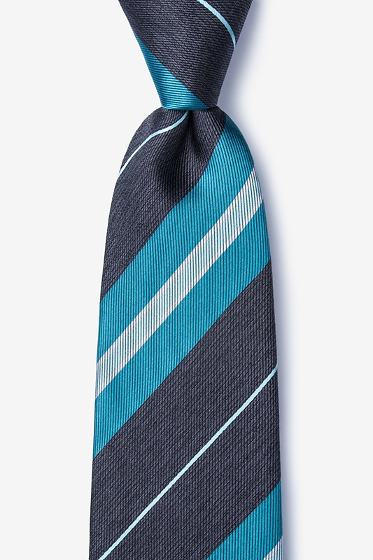 Inny Teal Extra Long Tie Photo (0)