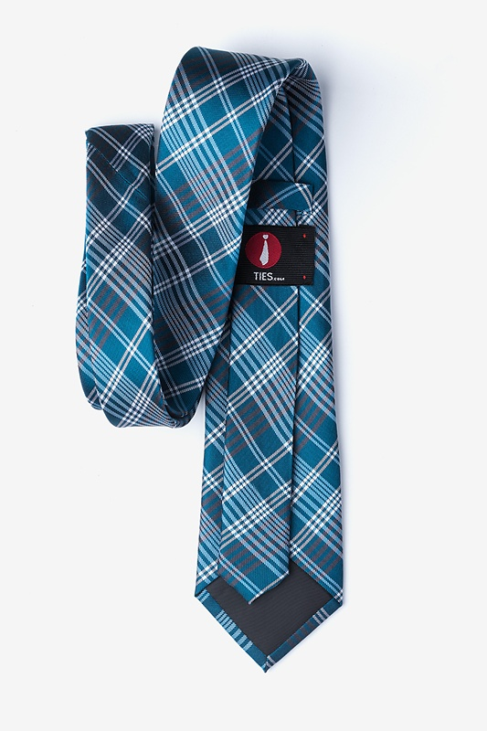 Leyte Teal Extra Long Tie Photo (1)