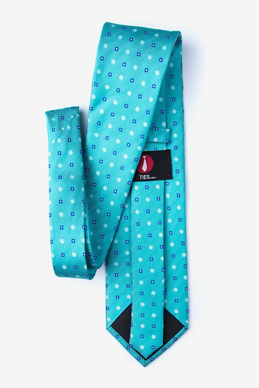 Monkey Teal Extra Long Tie Photo (1)
