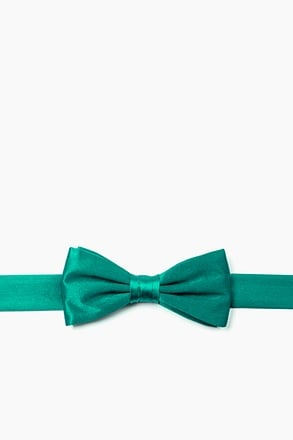 _Teal Bow Tie For Boys_