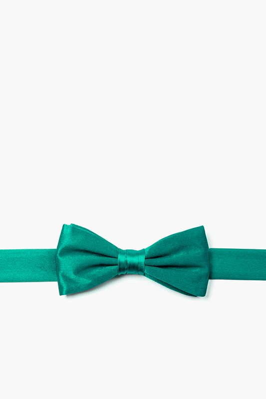 Teal Bow Tie For Boys Photo (0)