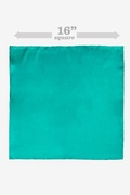 Teal Pocket Square Photo (2)