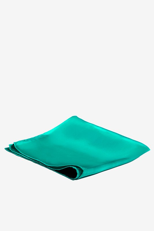 Teal Pocket Square Photo (1)