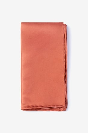 Terra Cotta Pocket Square