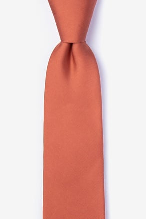 _Terra Cotta Tie For Boys_