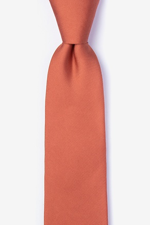 Terra Cotta Tie For Boys