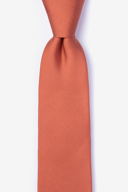 Terra Cotta Tie For Boys Photo (0)