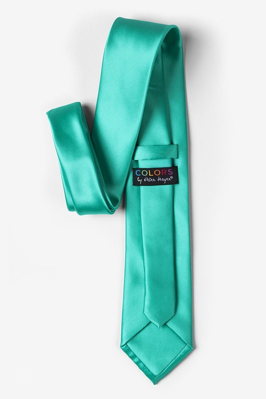 Tropical Turquoise Extra Long Tie Photo (2)