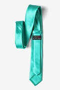 Tropical Turquoise Skinny Tie Photo (2)