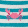 Turquoise Carded Cotton Don't Be Shellfish