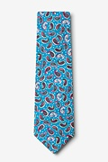 Cedar Hill Turquoise Extra Long Tie Photo (1)