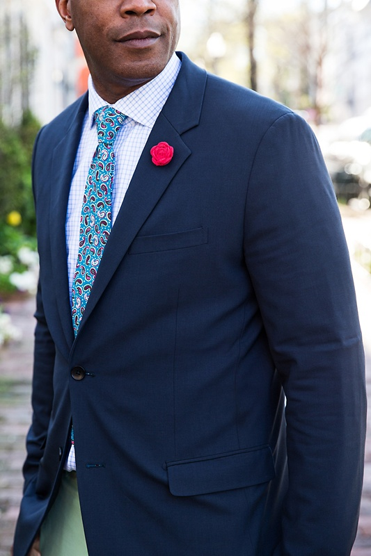 Cedar Hill Turquoise Tie Photo (3)