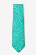 Denver Turquoise Extra Long Tie Photo (1)
