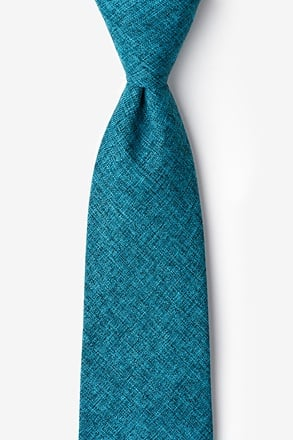 _Galveston Turquoise Extra Long Tie_