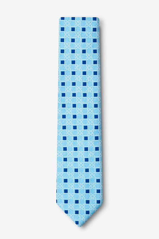 Jamaica Turquoise Skinny Tie Photo (1)