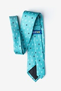 Anchors & Ships Wheels Turquoise Extra Long Tie Photo (1)
