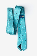 Anchors & Ships Wheels Turquoise Skinny Tie Photo (1)