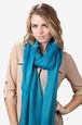 Turquoise Polyester Twinkle Scarf