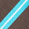 Turquoise Silk Barrow Extra Long Tie