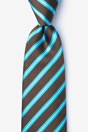 Barrow Turquoise Extra Long Tie