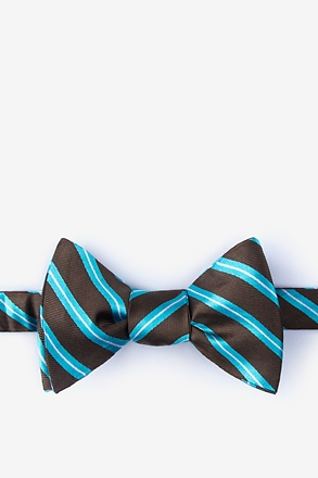 _Barrow Turquoise Self-Tie Bow Tie_