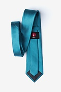 Buton Turquoise Extra Long Tie Photo (1)