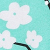 Turquoise Silk Cherry Blossoms
