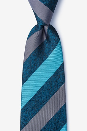 _Dee Turquoise Extra Long Tie_