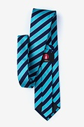 Fane Turquoise Extra Long Tie Photo (1)